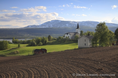 Kall Jämtland Sverige