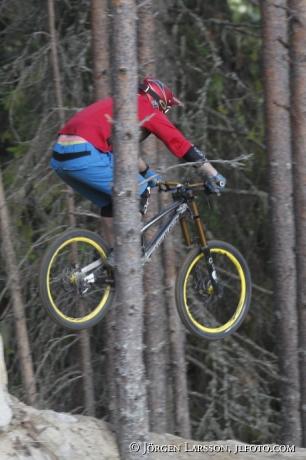 Mountainbike  Järvsö Hälsingland Sverige