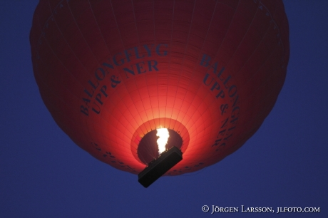 Luftballong Stockholm Sverige