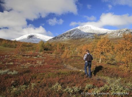 Snasahögarna vandrare Jämtland Sverige
