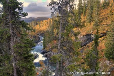 Gaustafallet, Jamtland Sweden